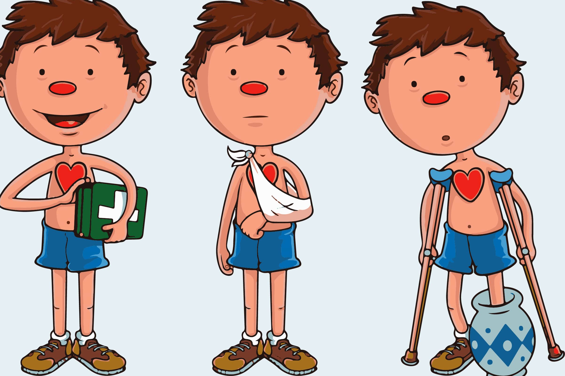 Flat Stan First Aid (for Children)